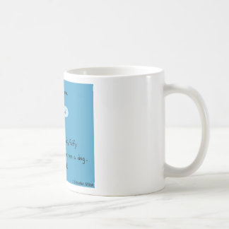 Fette flaumige Ente, Vertrauen niemand Kaffeetasse