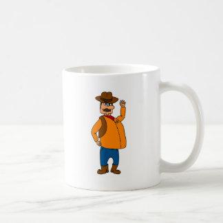 Fette Sheriff-Tasse Kaffeetasse
