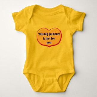 Fetter Herz-Baby-Spielanzug Baby Strampler