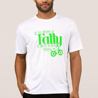 Fettes Fahrrad-T-Stück T-Shirt