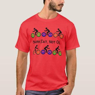 fettes Radfahrert-stück des Brandes T-Shirt
