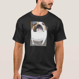 fetthaltige Bulldogge T-Shirt