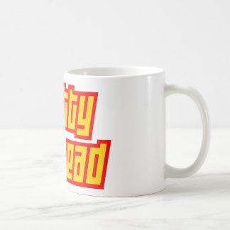 Fetthaltiger Fathead Kaffeetasse
