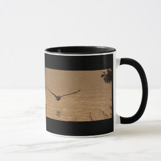Feuchtgebiets-Dämmerungs-Pelikan-Tasse Tasse