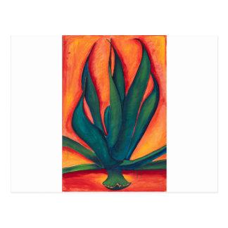 Feuer-Agave Postkarte