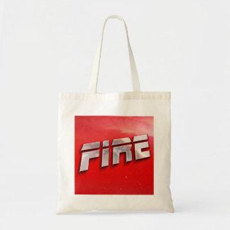 Feuer-Album-Abdeckungs-Taschen-Tasche Tragetasche