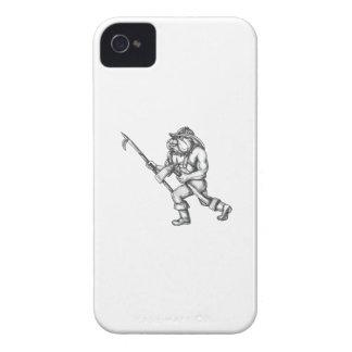 Feuer-Axt-Tätowierung Case-Mate iPhone 4 Hüllen