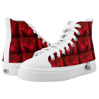 Feuer-Bengel Zipz Hoch-geschnittene Sneaker