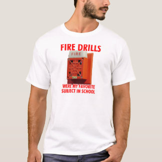 Feuer-Bohrgeräte T-Shirt