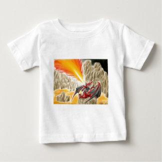 Feuer-Drache Baby T-shirt