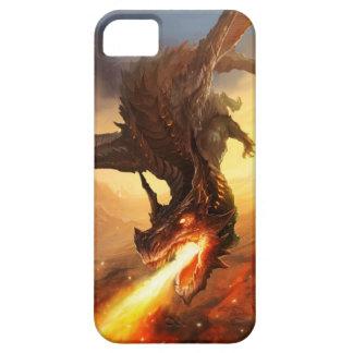 Feuer-Drache Etui Fürs iPhone 5