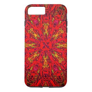 FEUER Element Kaleido Muster iPhone 8 Plus/7 Plus Hülle