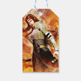 Feuer-Elf Geschenkanhänger