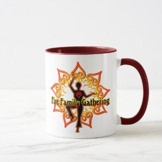 Feuer-Familien-Tasse Tasse