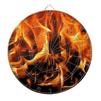 Feuer, Flammen Dartscheibe