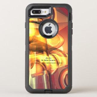 Feuer-Fliege abstrakter OtterBox Fall OtterBox Defender iPhone 8 Plus/7 Plus Hülle