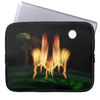 Feuer-Fliege Laptop Sleeve