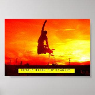 Feuer-Himmel Plakate