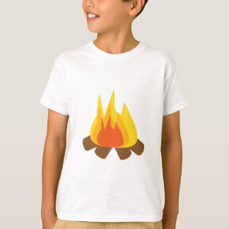 Feuer im Freien T-shirt