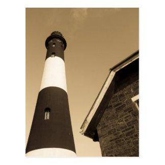 Feuer-Insel-Leuchtturm - Postkarte