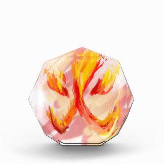 Feuer [japanisch] acryl auszeichnung