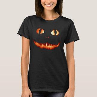 Feuer-Katzen-Frauen-T - Shirt