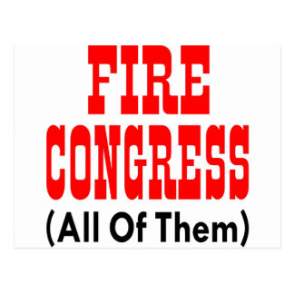 Feuer-Kongreß (alle) Postkarte