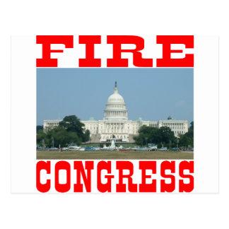 Feuer-Kongreß Postkarte