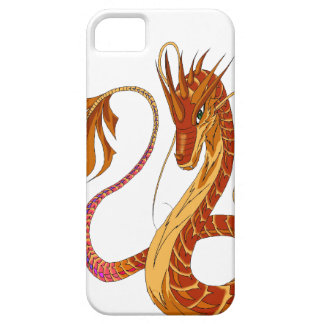 Feuer-korallenrote Drache iPhone 5/5s Abdeckung iPhone 5 Schutzhülle