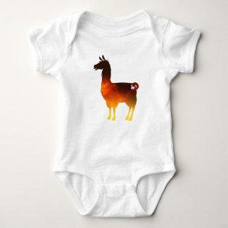 Feuer-Lama-Baby-Bodysuit Baby Strampler