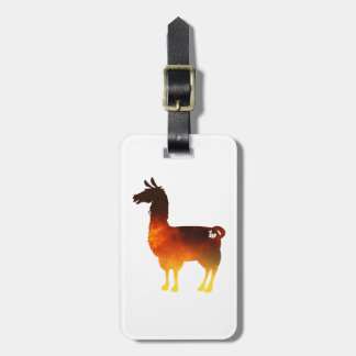 Feuer-Lama-Gepäckanhänger Gepäckanhänger