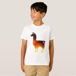 Feuer-Lama scherzt T - Shirt