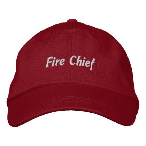 Feuer Leiter-Gestickter Hut Bestickte Kappen