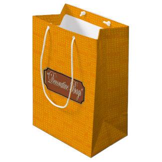 Feuer-mittlere Geschenk-Tasche Mittlere Geschenktüte