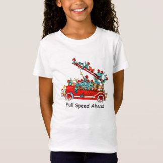 Feuer-Motor-LKW-T - Shirt