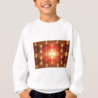 Feuer-Muster Sweatshirt