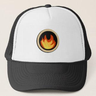 Feuer Ninjas Logo-Hut Truckerkappe