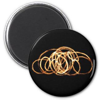 Feuer-Stab - Magneten Runder Magnet 5,1 Cm