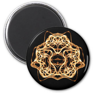 Feuer-Stäbe - Magneten Runder Magnet 5,7 Cm