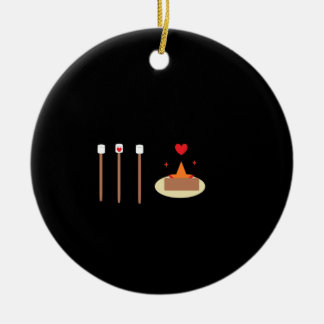 Feuer-Tag Keramik Ornament