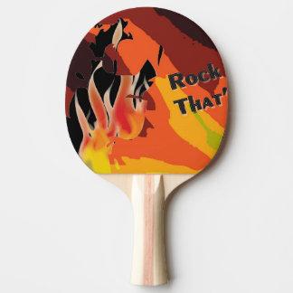 Feuer Tischtennis Schläger