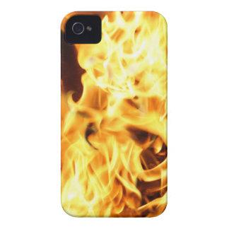 Feuer u. Flammen, die brennenden Telefon-Kasten iPhone 4 Etuis