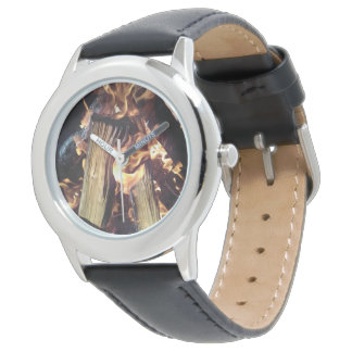 Feuer-Uhr Armbanduhr