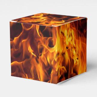 Feuer-und Flammen-Muster Geschenkschachtel