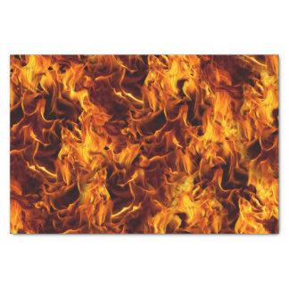 Feuer-und Flammen-Muster Seidenpapier