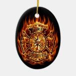 Feuer Weihnachtsbaum Ornament