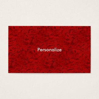 Feuer-Ziegelstein-Rot-Korken-Blick-Holz-Korn Visitenkarte