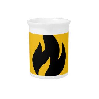 Feueralarm Getränke Pitcher
