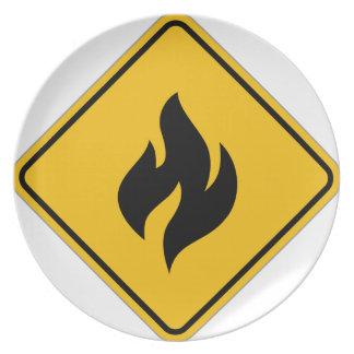 Feueralarm Teller