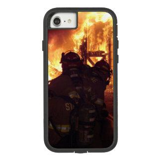 Feuerbekämpfendes Struktur-Feuer Case-Mate Tough Extreme iPhone 8/7 Hülle